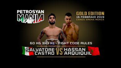 Salvatore Castro vs Hassan Arquiquil