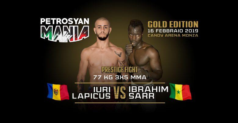 Iuri Lapicus vs Ibrahim Sarr