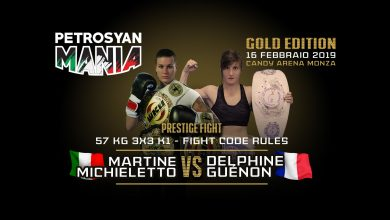 Martine Michieletto vs dElsphine Guenon