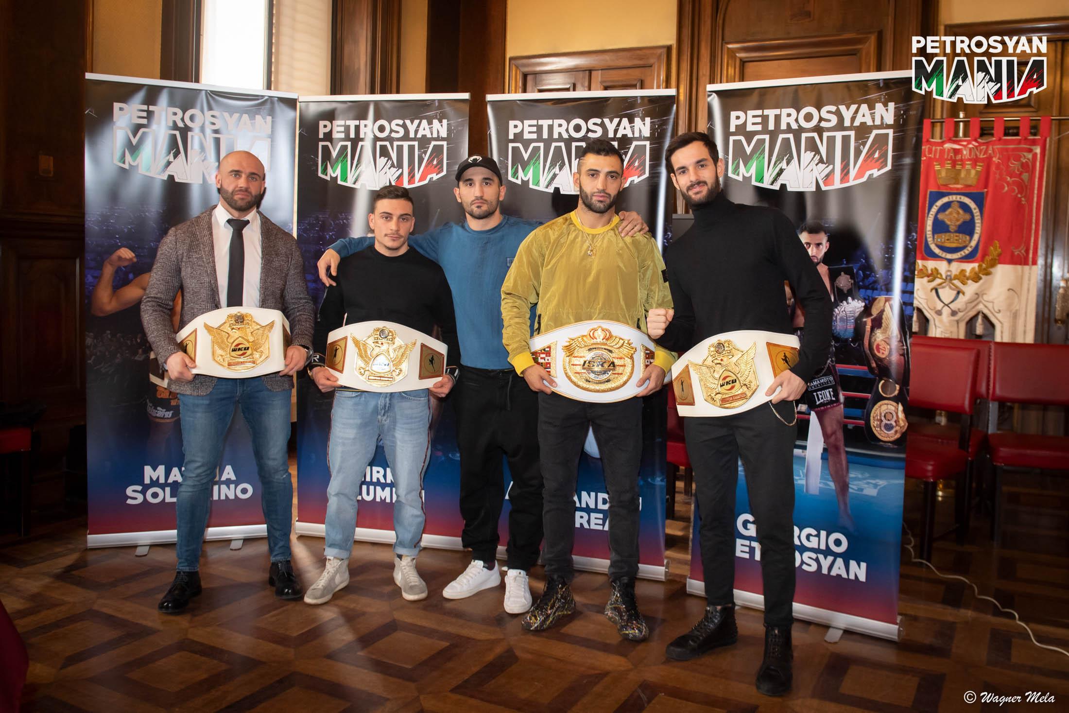 PetrosyanMania Gold Edition Conferenza Stampa Comune di Monza
