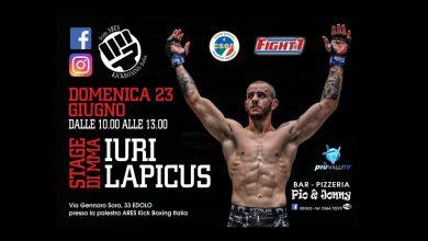 Iuri Lapicus Stage MMA