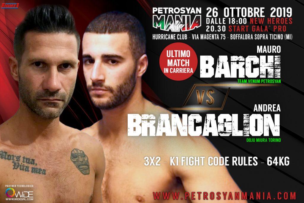 Barchi VS Brancaglion