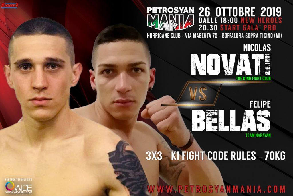 Nicolas Novati VS Felipe Bellas