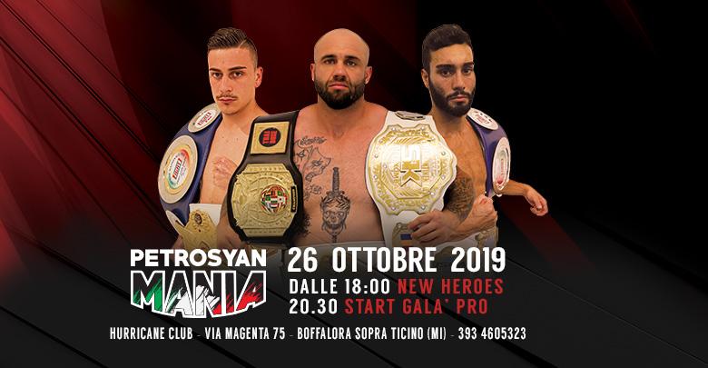 PetrosyanMania 26 ottobre 2019