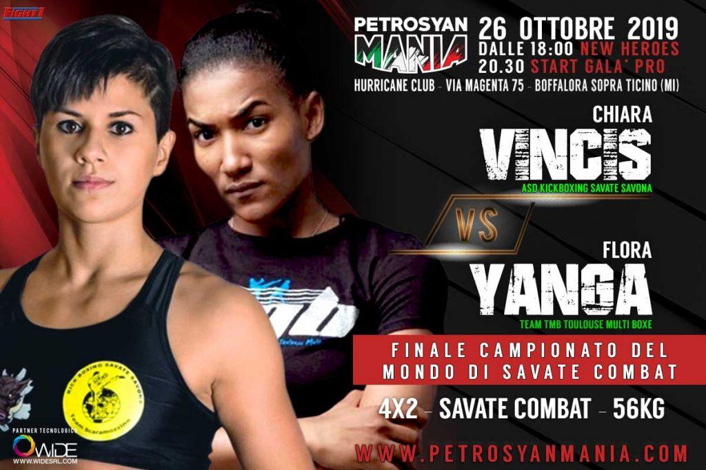 Vinci VS Yanga