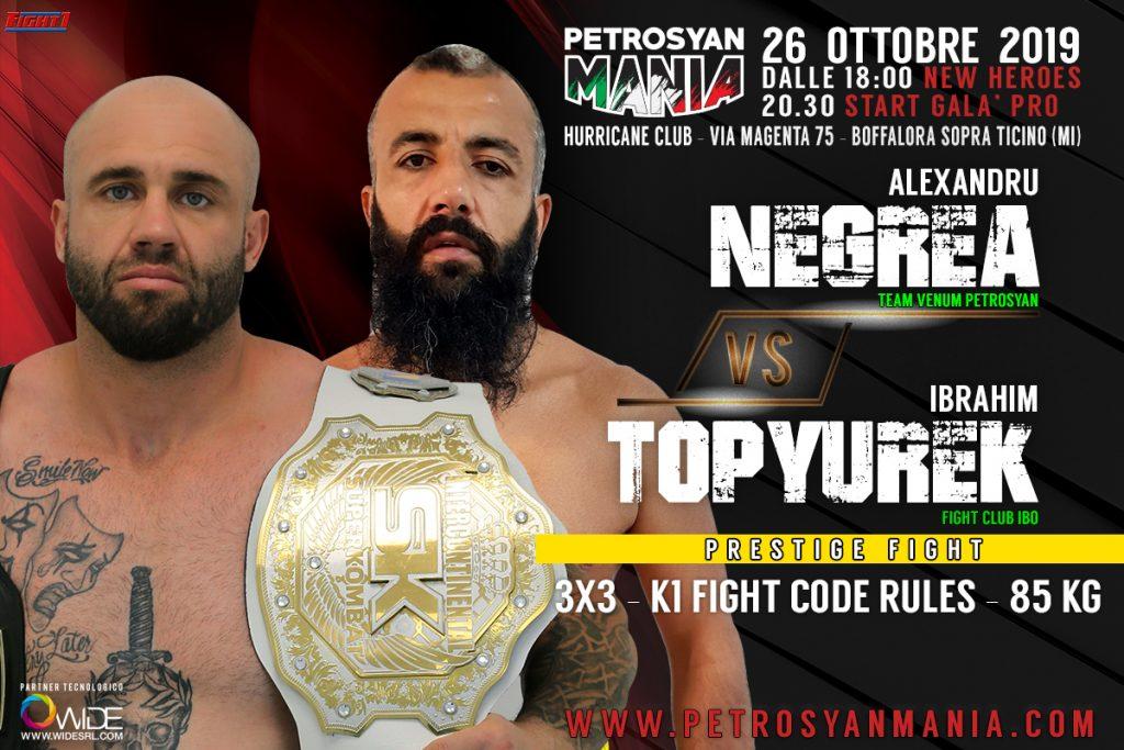 Negrea VS Topyurek