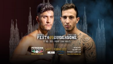 Andrea Festa VS Christian Guiderdone