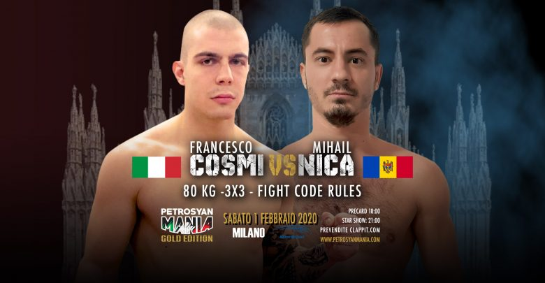 Francesco Cosmi VS Mihail Nica