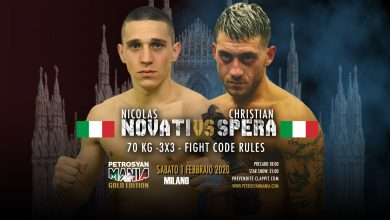 Nicolas Novati VS Christian Spera