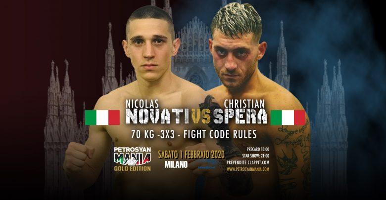 Nicolas Novati VS Christian Spera
