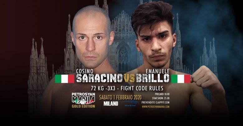 Cosimo Saracino VS Emanuele Brillo