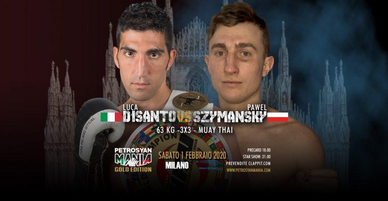 Luca d'isanto VS Pawel Szymansky