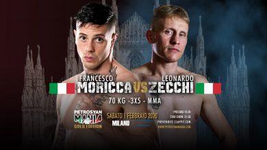 Francesco Moricca VS Leonardo Zecchi