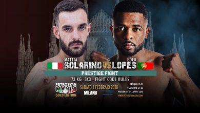 Mattia Solarino VS Eder Lopes