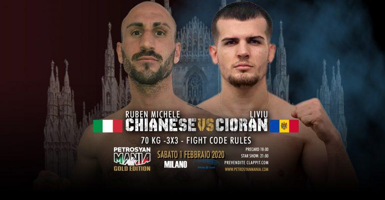 Ruben Michele Chianese vs Liviu Cioran