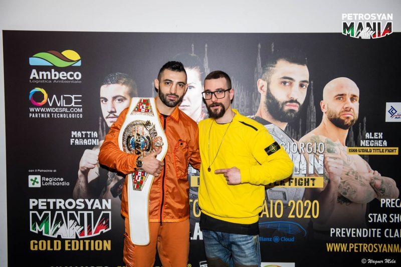 PetrosyanMania GOLD EDITION 2020 Conferenza Stampa