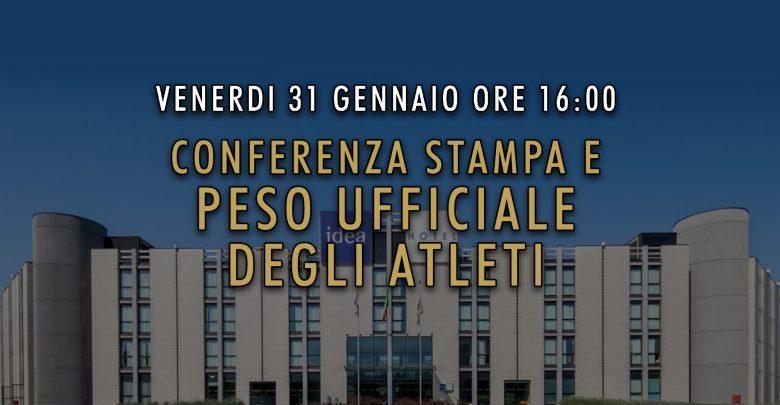 Conferenza e Peso PetrosyanMania GOLD EDITION