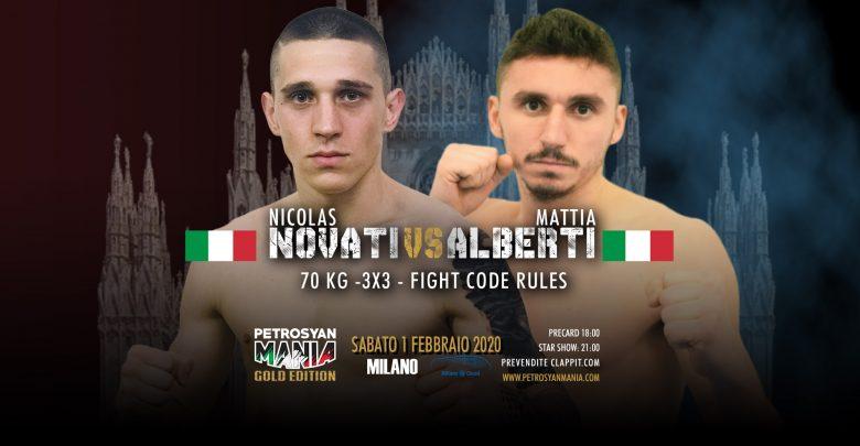 Nicolas Novati VS Mattia Alberti