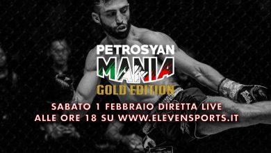 PetrosyanMania in streaming su elevensports