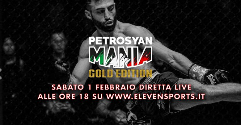 PetrosyanMania in streaming su elevensports