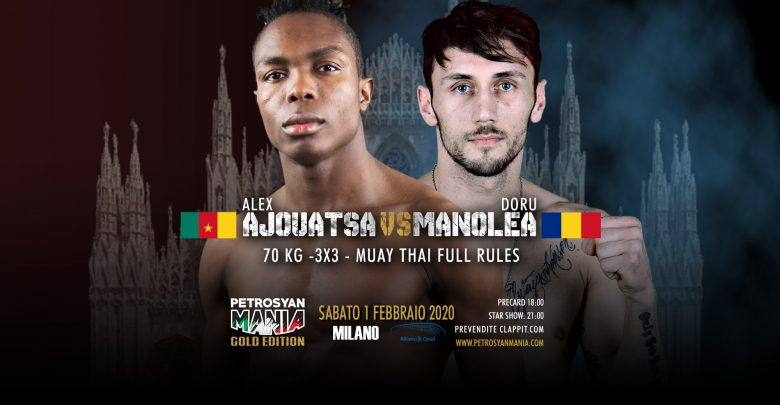 Alex Ajouatsa VS Doru Manolea