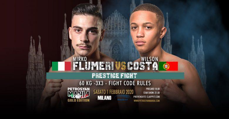 Mirko Flumeri VS Wilson Costa